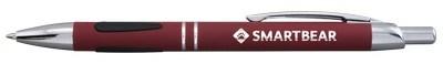 Promotional Vienna Comfort Click Metallic Stylus Ballpoint Pen