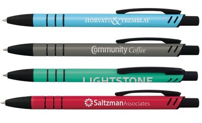 Custom Nzuri Click Stylus Ballpoint Pen