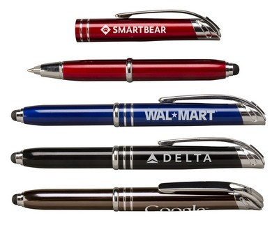 Zentrio Light and Stylus Retractable Ballpoint Pen