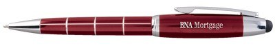 Customisable Damali Click Metallic Stylus Ballpoint Pen