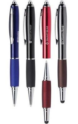 Luxuria Light and Stylus Retractable Ballpoint Pen