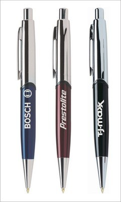Promotional Lexington Click Metallic Stylus Ballpoint Pen