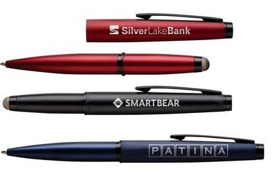 Axonite Stylus Pull Cap Ballpoint Pen
