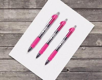 MaxGlide Click Tropical Pen - Pink
