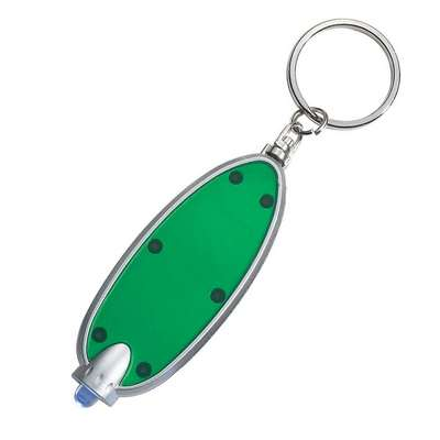 Oval LED Key Chain