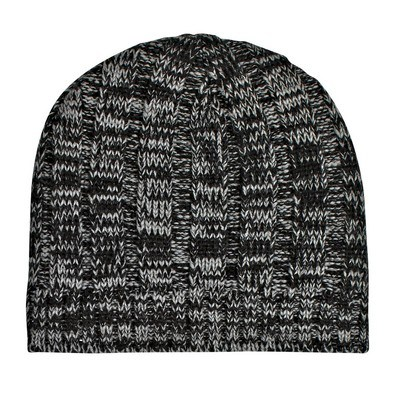 Customised Knit Heathered Beanie Cap