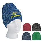 Picture of Customised Knit Heathered Beanie Cap