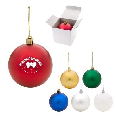 Promotional Round Ornament