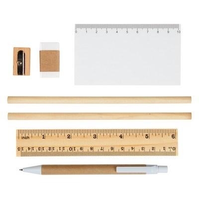 Customizable Eco-Inspired Tri-Fold Stationary Gift Set