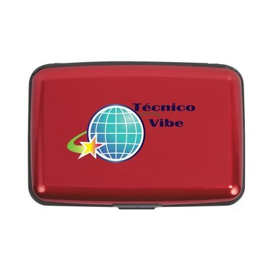 Promotional Aluminium Card Case