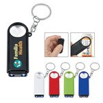 Picture of Magnifier And Led Light Key Chain