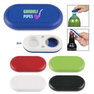 Customised Oval Magnetic Bottle Opener