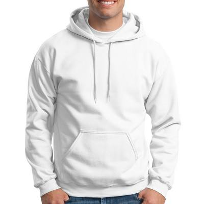 Customizable Gildan Adult Heavy Blend Hooded Sweatshirt - White