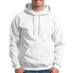 Picture of Customizable Gildan Adult Heavy Blend Hooded Sweatshirt - White