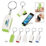 Picture of Phone Stand And Screen Cleaner Combo Keychain