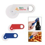 Picture of Pizza Cutter With Bottle Opener