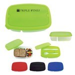 Picture of 2-Section Lunch Container