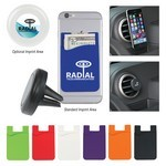 Picture of Promotional Auto Air Vent Magnetic Phone Wallet
