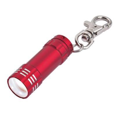 Mini Aluminum LED Light With Key Clip