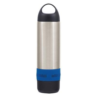 Customised 17 Oz. Stainless Steel Rumble Bottle w/ Speaker
