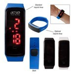 Picture of Rectangle Unisex Digital LED Watch