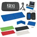 Picture of Folding Wireless Keyboard with Case- Full Color