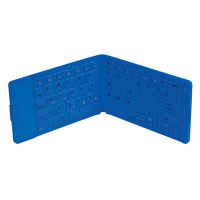 Folding Wireless Keyboard with Case- Full Color