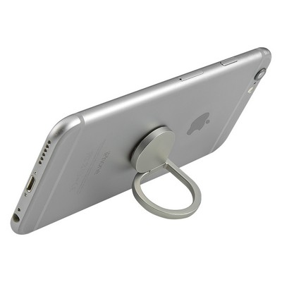 Promotional Aluminum Cell Phone Ring and Stand