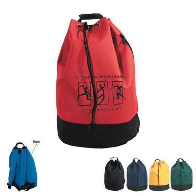 Drawstring Tote and Backpack - Embroidered