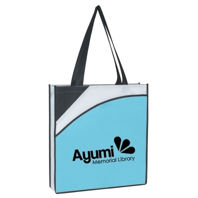 Non-Woven Conference Tote Bag - Screen Printed