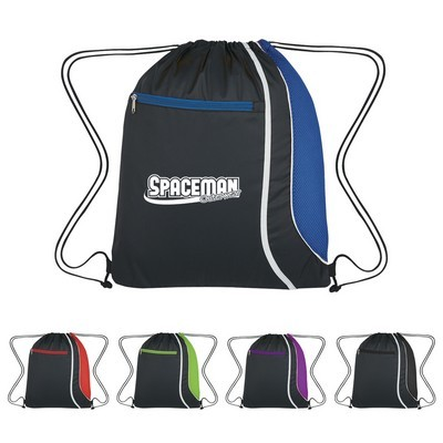 Mesh Accent Drawstring Sports Pack