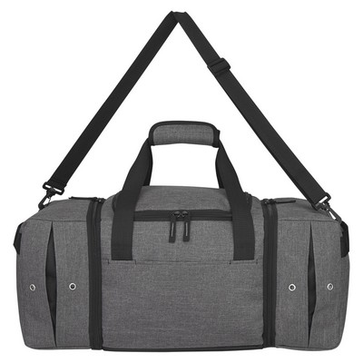 Personalised Deluxe Sneaker Duffel Bag