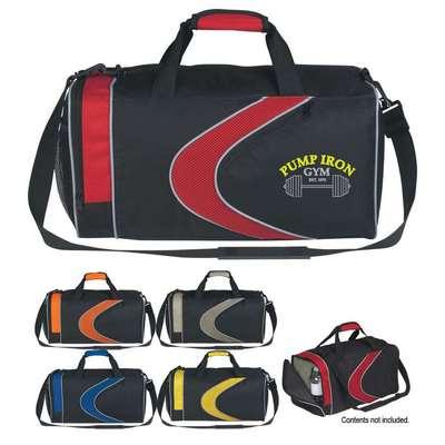 Sports Duffel Bag - Screen Printed