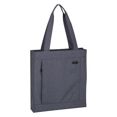 Promotional Hidden Zipper Tote Bag - Screen Printed