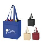 Picture of Non-Woven 6 Bottle Wine Tote
