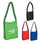 Picture of Non-Woven Messenger Tote  - Screen Printed