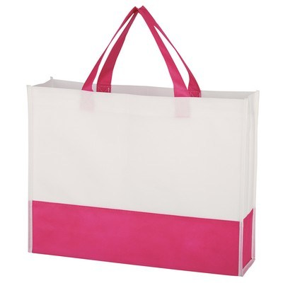 Promotional Non-Woven Prism Tote Bag