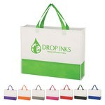 Picture of Promotional Non-Woven Prism Tote Bag