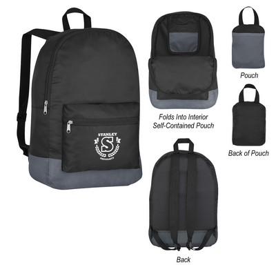 Customised Foldaway Backpack