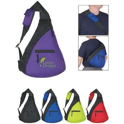 Budget Sling Backpack - Screen Printed