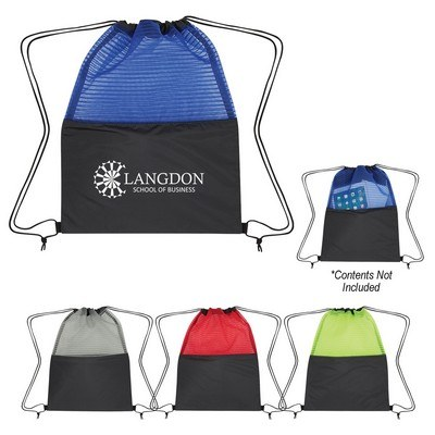 Personalised Sheer Mesh Pinstripe Sports Pack