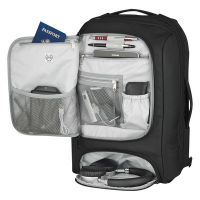 Personalised RIFD Computer Backpack and Briefcase - Embroidered