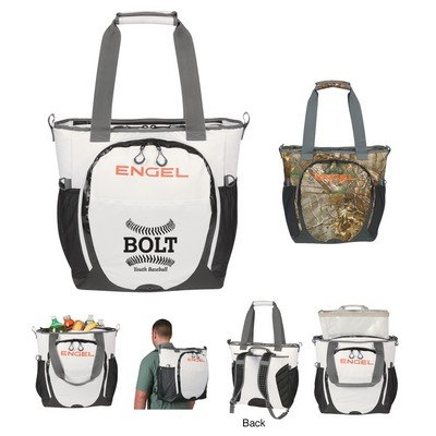 Personalised 23 Qt. Engel Backpack Cooler - Realtree Xtra Camouflage