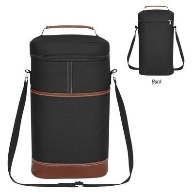 Custom-made Double Wine Kooler Bag