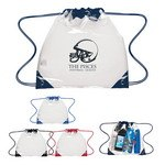 Picture of Touchdown Clear Drawstring Backpack