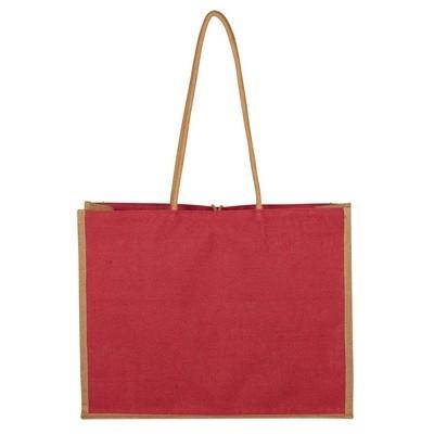 Custom Paradise Jute Tote Bag