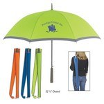 "Picture of 46"" Arc Two-Tone Umbrella"