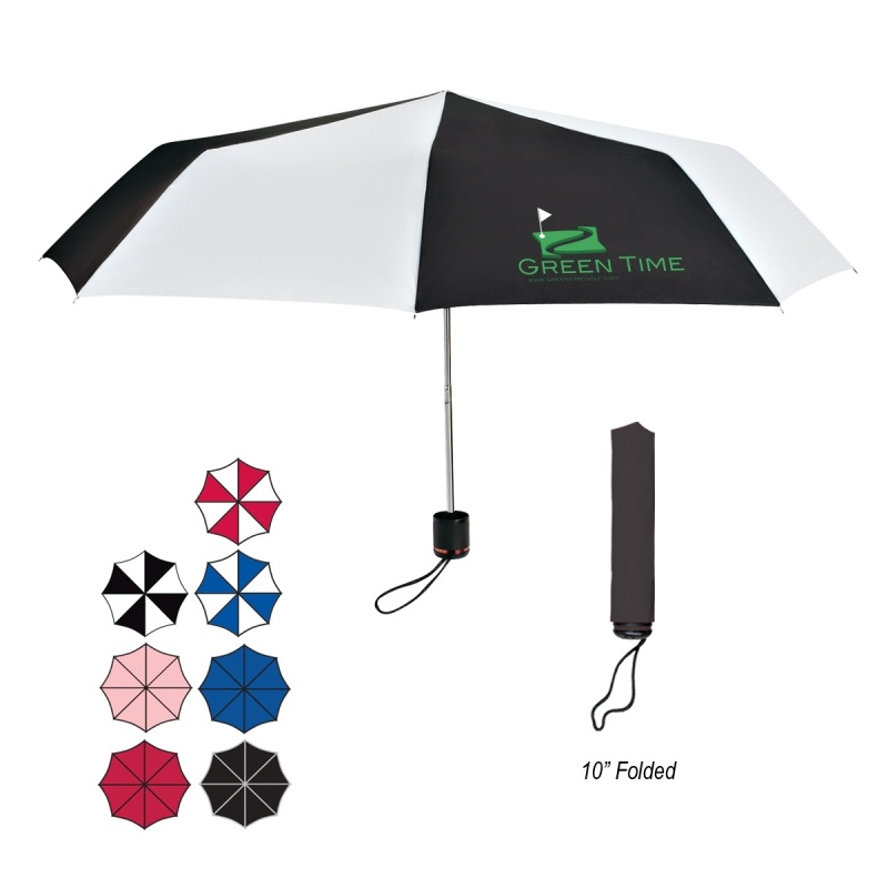 "Picture of 43"" Arc Super-Mini Telescopic Folding Umbrella"