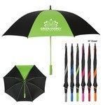 "Picture of 60"" Arc Splash of Color Golf Promotional Umbrella"