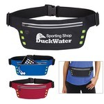 Picture of Logo Printed Running Belt with Safety Strip and Lights